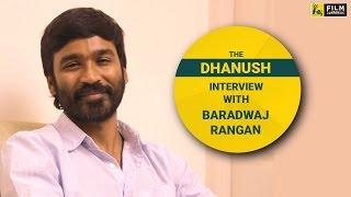 Dhanush Interview with Baradwaj Rangan | Face Time