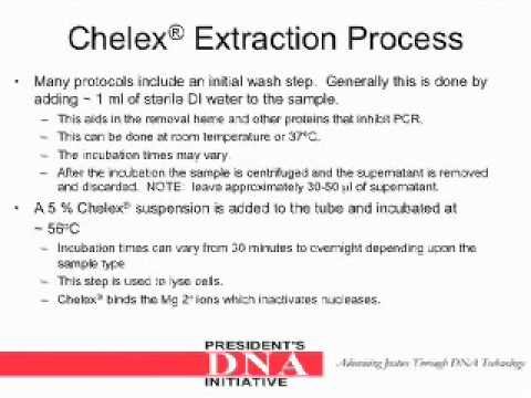DNA Analyst Training : Chelex Extraction