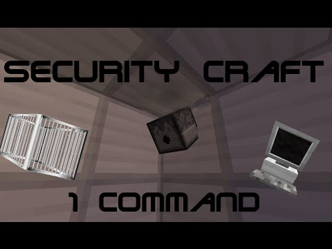 Security Craft (One command) | 1.8