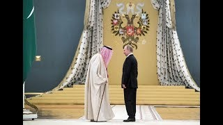 Saudi King Bows to New Middle East Tsar Putin And Brings Billions For Joint Projects With Russia