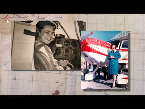 Jerrie Mock, First Woman to Fly Solo Around the World - WOAW Week 2014