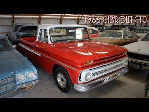 1966 Chevrolet C10 Shortbed Pickup V8