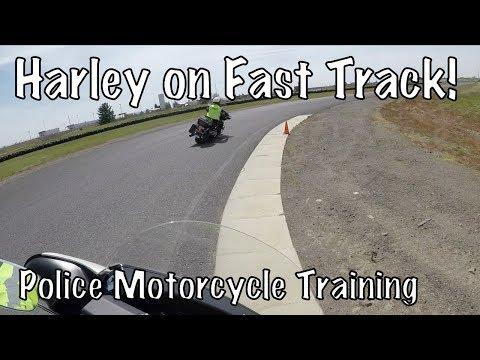 Basic Police Motorcycle School-High Speed Fast Track Spokane, WA-County Raceway-PT4