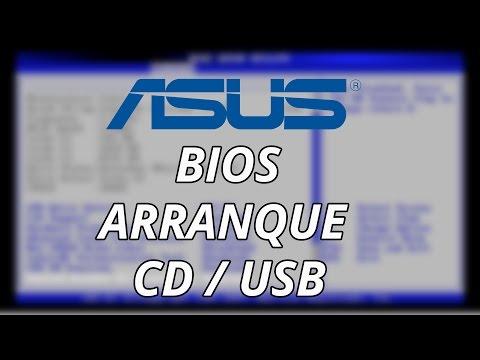 Configurar BIOS ASUS para Arrancar desde CD o USB (Portátiles ASUS X555L X554L y otros modelos)