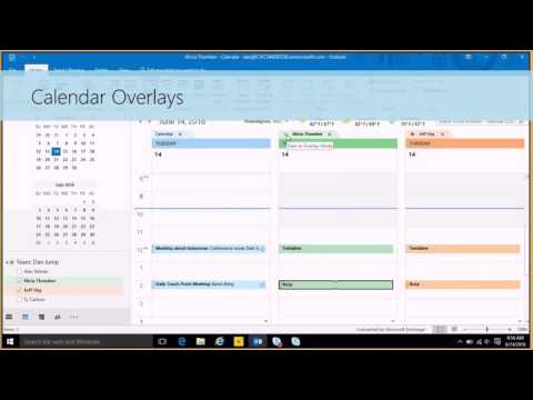 How-To: Use the Outlook 2016 Calendar