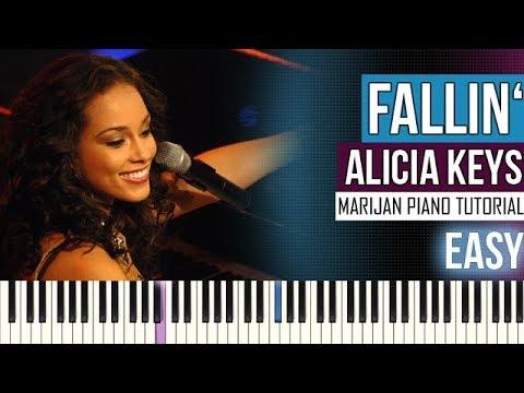 How To Play: Alicia Keys - Fallin' | Piano Tutorial EASY