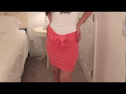 DIY skirt in 10 seconds