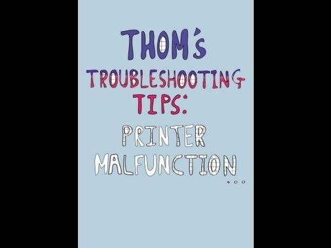 Troubleshooting: Printers
