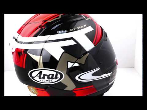 Arai RX-7V Isle Of Man TT 2018 Helmet
