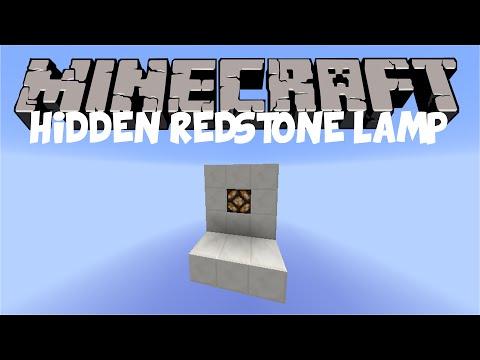 Minecraft: Hidden Redstone Lamp