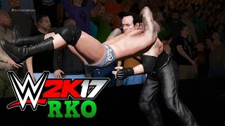 WWE 2K17 - RANDY ORTON RKO COMPILATION!
