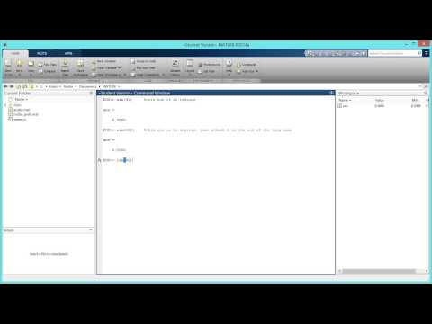 How to Type Trigonometric Functions in Degrees and Radians in MATLAB. [HD]