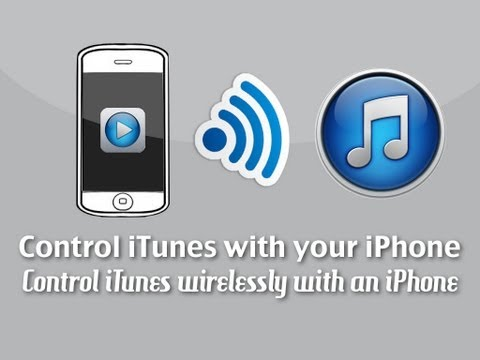 How to Control iTunes from your iPhone - Control iTunes on a Computer Wirelessly