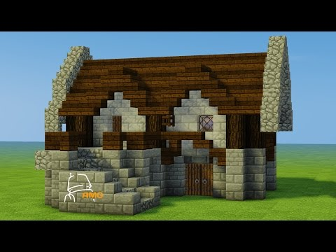 Minecraft Let's Build - French Medieval House Numero 2