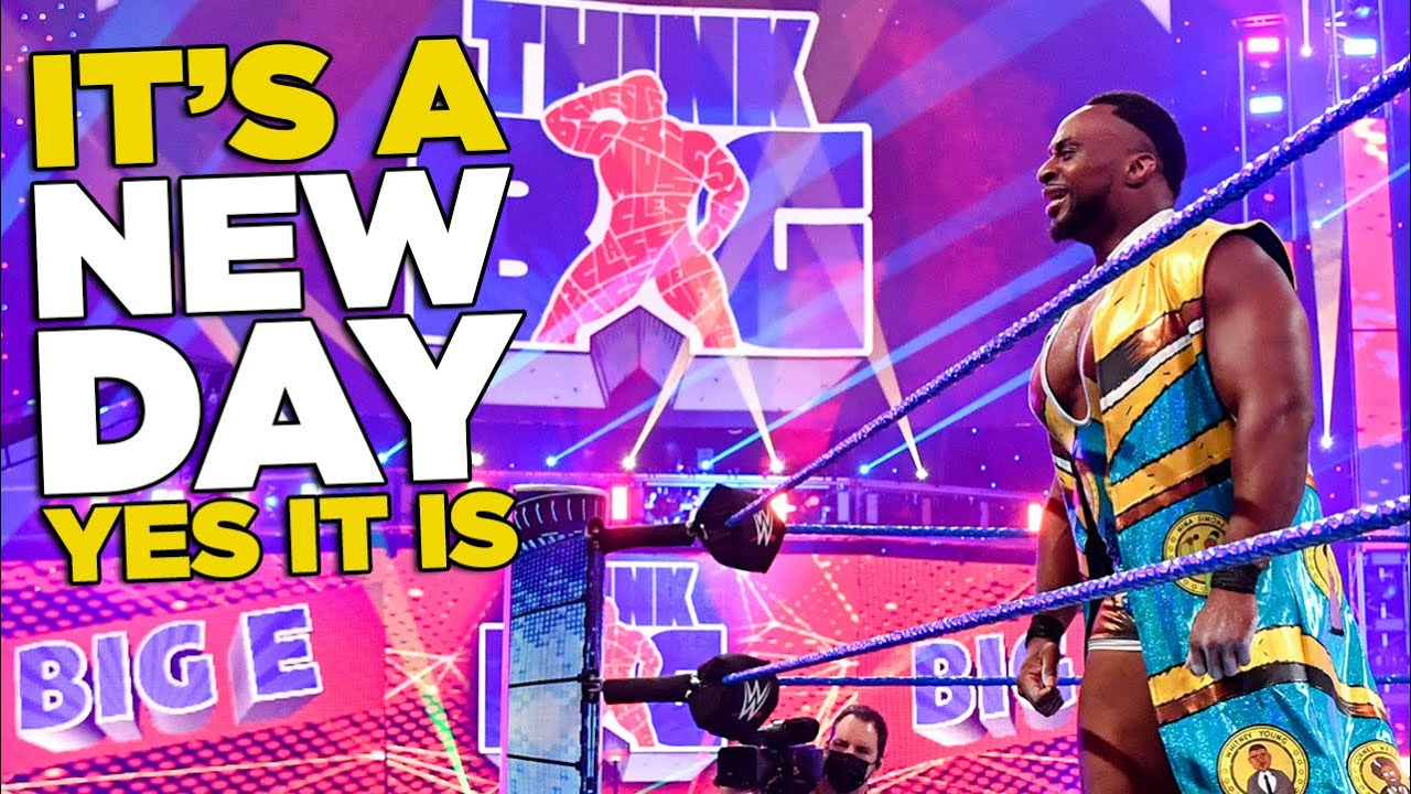 Big E Officially Leaves New Day On WWE SmackDown?