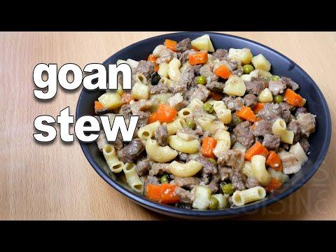 Goan Beef Stew | Goan Stew Recipe ||*Fatima Fernandes | Goan Beef Recipes | Goan Food
