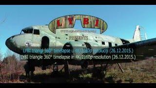 LYBI triangl 360° timelapse u 4K/2160p rezoluciji (26.12.2015.)
