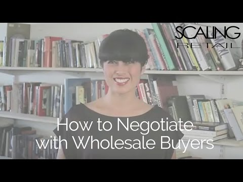 How to Negotiate with a Retail Buyer (Wholesale)