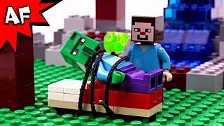 Lego Minecraft Zombie Villager Rescue