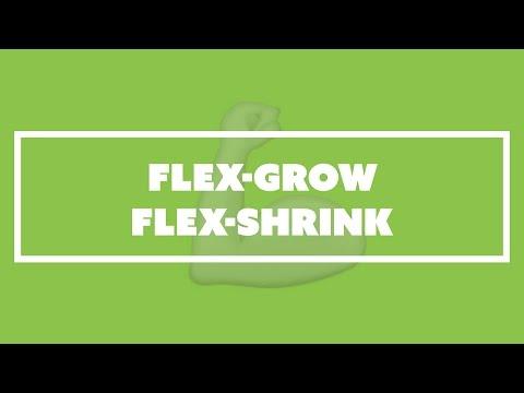 flex-grow und flex-shrink