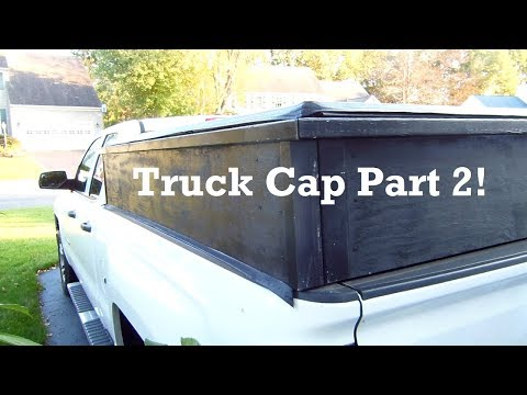 How to Make a Truck Cap Part 2