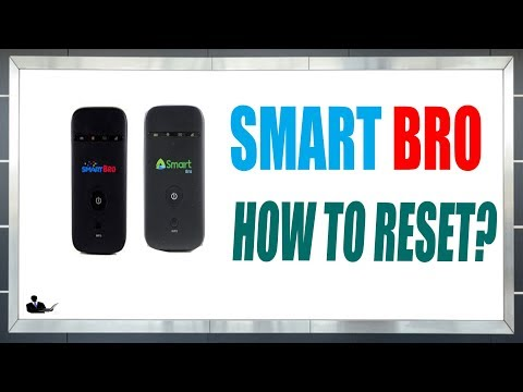 How to reset Smart bro pocket  Wi-Fi? LTE/4G SMARBRO UPGRADED 2018