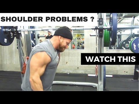 BODYBUILDING SHOULDER PROBLEMS - how to rehab &  injury free WORKOUTS
