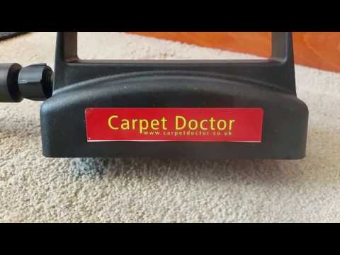 How to fix & repair carpet dents using steam.