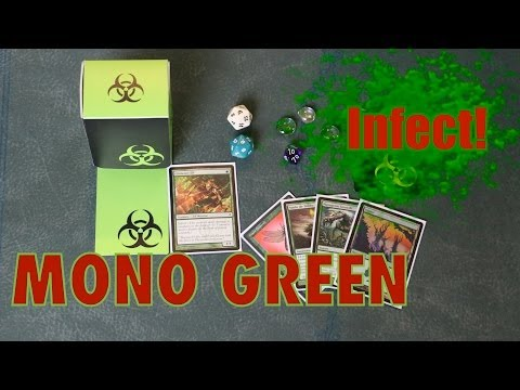 MTG - Spread the Modern Sickness, with Mono Green Infect! Magic: The Gathering Tech