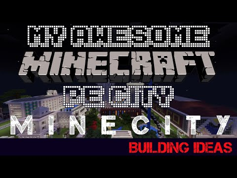 My Awesome Minecraft PE City | MINECITY | Building Ideas