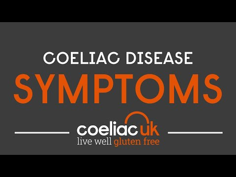 Coeliac Disease - Symptoms - Coeliac UK Awareness