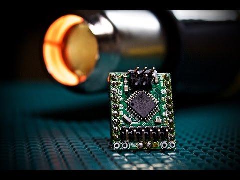 Arduino (ATMEGA328) at 3.3V? okay to run at 16MHz?  Extreme Temperature Testing!
