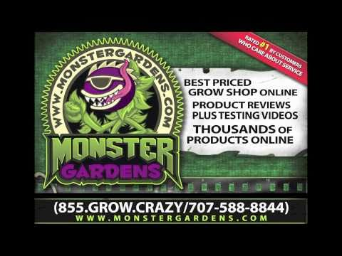 GROW ROOM SUPPLIES | MONSTERGARDENS.COM ONLINE | HYDRO STORE | Discount Hydroponics Supplies