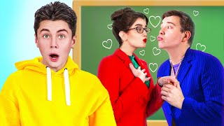 If My Principal Is in Love with My Dad!/ Funny Situations in College