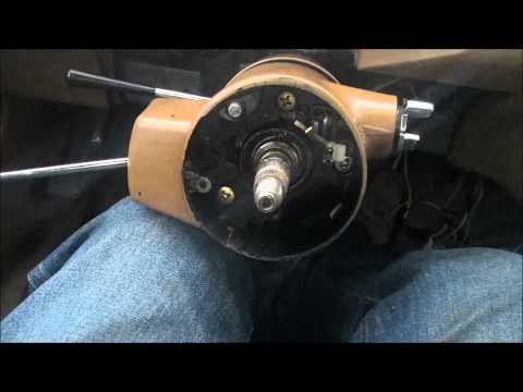 Easy GM steering column teardown