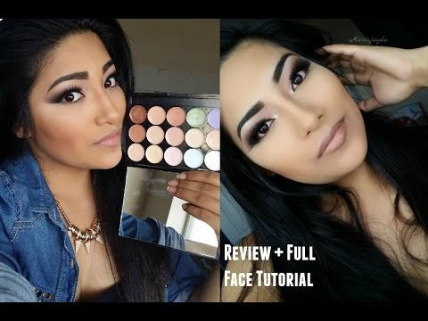 BEAUTY EVOLVED Primer, Concealer, Corrector Palette Review + Full Face Contouring + Highlighting
