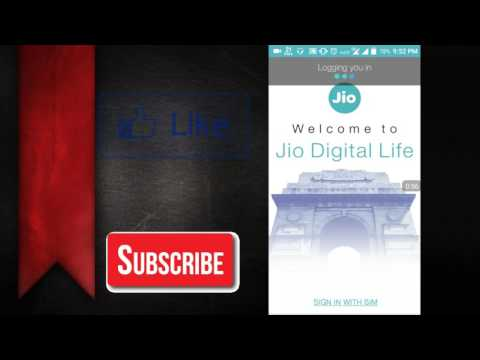 How to check jio balance - Check your reliance jio balance on your smartphone -In Hindi