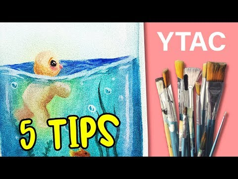 HOW TO BE A CONFIDENT ARTIST (5 TIPS) // YTAC PAINTING