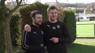 Tom Grennan's training session with the Hatters, on Sky Sports!