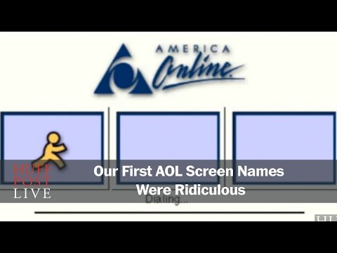 Our First AOL Screen Names Were Ridiculous