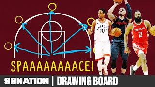 How NBA offenses got impossible to defend | Drawing Board