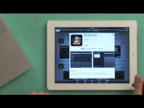 How to Watch AVI Movies on an iPad With VLC : Using an iPad