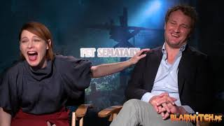 Download Amy Seimetz & Jason Clarke on PET SEMATARY interview Video