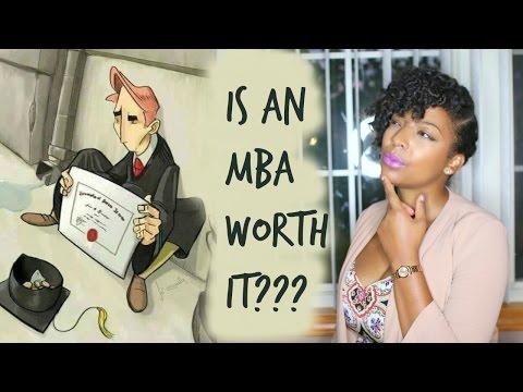 Is an MBA Worth it? Money Mondays
