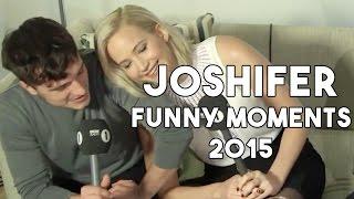 Jennifer Lawrence & Josh Hutcherson Funny Moments 2015