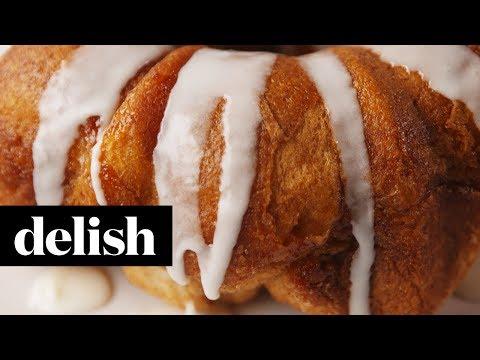 Cheesecake Stuffed Monkey Bread   Delish