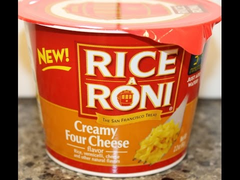 Rice A Roni: Creamy Four Cheese Review