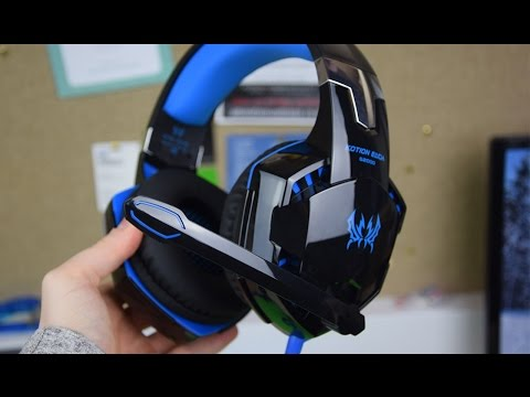 Unboxing & First Impressions: Mindkoo G2000 Gaming Headset