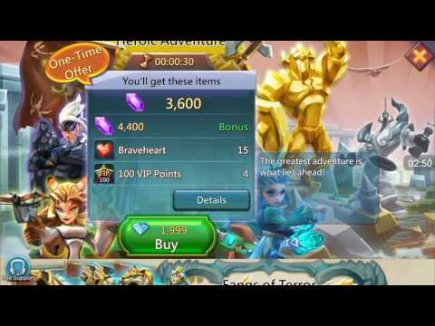 Get Gems cheaper on Lords Mobile!