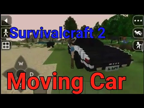 How to make a moving vehicle in Survivalcraft 2